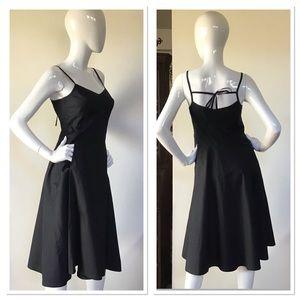 Banana Republic Black A-Line Dress 4